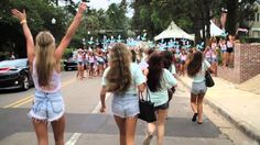 I'm no DG but this video is ah-ma-zing  Delta Gamma Bid Day @ FSU 2013