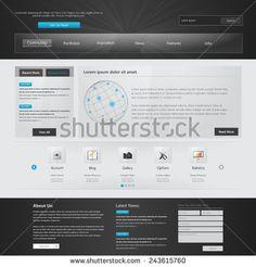 Website Template.