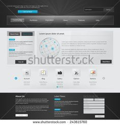 Website Template.