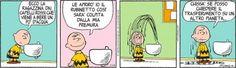 chissà se posso chiedere il trasferimento su un altro pianeta, Peanuts