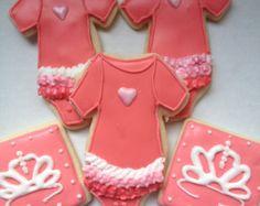 Princess Baby Girl Sugar Cookies