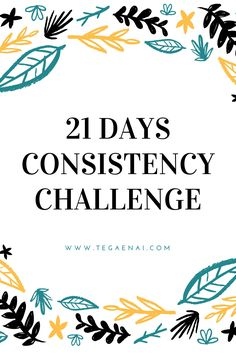 21 Days Consistency Challenge