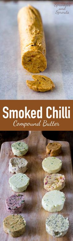 This smoked chilli compound butter wonderfully rich. It smells A-Maz-Ing! Just look at the colour! Perfect on your meat, fish or veg! Flavored Butter, Homemade Butter, Homemade Sauce, Butter Recipe, Great Recipes, Favorite Recipes, Top Recipes, Holiday Recipes, Baking Basics
