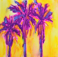 Magenta Palm Trees by Patricia Awapara - Magenta Palm Trees ...