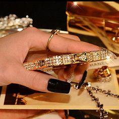 Luxury Bling Snake Diamond Metal Rhinestone Bumper iPhone Case