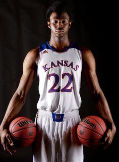 Is it basketball season yet? Andrew Wiggins--Kansas Univ