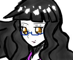 I kinda did a anime self of me