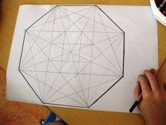 math geometric art my grade five students finished their geometric