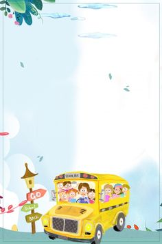 School Photo Frames, School Frame, School Photos, Kids Background, Flower Background Wallpaper, Cartoon Background, Cartoon Template, Flower Petal Template, Physical Activities For Kids