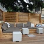 Montreal Outdoor Living – Urban Backyard Patio & Terrace in Hampstead Outdoor Decor, Garden Seating, Modern Outdoor, Patio Design, Patio Plans, Outdoor Design, Deck Seating