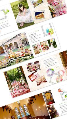 パンフレット ブライダル Page Design, Layout Design, Web Design, Graphic Design, Catalog Design, Editorial Layout, Textbook, Flyer Design, Photo Book