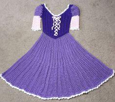 Ravelry: Princess Dress Blanket Purple by Carol L Hladik