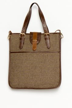 Blair Hounds Tooth Tote