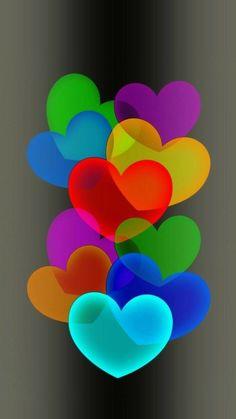Flower Phone Wallpaper, Heart Wallpaper, Love Wallpaper, Cellphone Wallpaper, Colorful Wallpaper, Nature Wallpaper, Wallpaper Backgrounds, Iphone Wallpaper, Screen Wallpaper