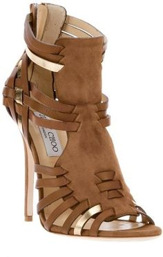 """""""Chúntaro Couture"""" at its finest- Mexican fashion is timeless!!! Jimmy Choo ~ Maria Sandal"""
