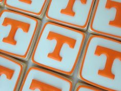 University of Tennessee Power T cookies