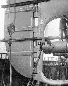 Titanic Rudder