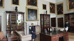 Kedleston Hall Library.