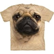 Unisex Pug Tshirt L Beden   Haytap Tshirtleri   www.haytapshop.com
