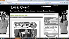 The Local Seeker Newspaper The Locals, Newspaper, Community, Spaces, Communion, Magazine