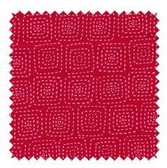 Stitch square berry / linna morata