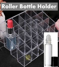 ($5 with free shipping!!) I love diluting my essential oil and making blends, so I have lots of roller bottles, but I hate how hard it is to keep them organized and to not fall over. So I'm in love with this recent find! It holds up to 24 roller bottles, keeps them all nicely organized and upright, and it only costs $5 with free shipping!! click image for info on where to buy
