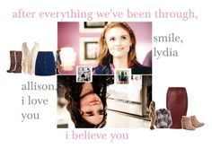 """""""[you make me feel again, make me dance circles round the pieces of your heart. // blue blood x laurel]"""" by lydiamartinisbetterthanyou ❤ liked on Polyvore featuring River Island, Michael Antonio, Sole Society, TeenWolf, LydiaMartin, allisonargent and allydia"""