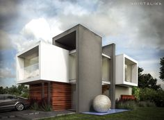 CF HOUSE #architecture #modern #facade #contemporary #house #design
