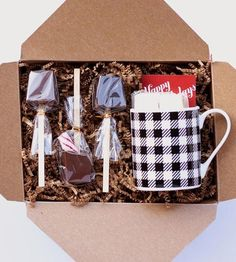 Hot Chocolate Sipping Kit by Ticket Chocolate on Scoutmob Shoppe