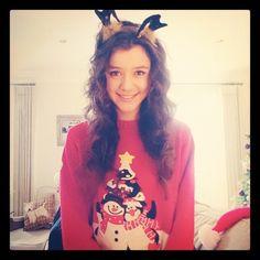 Eleanor Calder ... Merry Christmas (Eleanor's instagram)