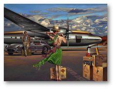 "Peregrine Heathcote (English, born 1973) ~ ""My Destiny Defined""  ~   oil on canvas"