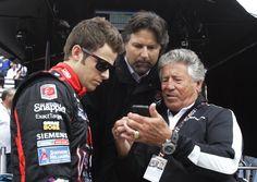 Mario Andretti with son Michael & grandson Marco