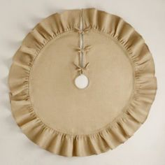 Give your holiday tree a rustic, homespun feel with our jute tree skirt featuring a ruffled burlap border. Unique Christmas Trees, Burlap Christmas, Holiday Tree, Family Christmas, Christmas Stockings, Christmas Holidays, Christmas Crafts, Christmas Decorations, Beach Christmas