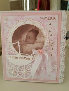 Nyfødtkort til en liten prinsesse