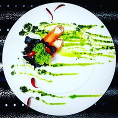 Rolled smoked salmon with cream cheese with basilo sauce #top_food_of_instagram #theartofplating #instafoods #photoday #photooftheday #pullmanjakartacp #amazing #disney #dontshoothechef #dailyfoodfeed #foodphotography #foodshare #food #foodporn #instafood #foodie #foodstarz #foodknockout #luxury #gastronomy #gourmetartistry #jwmarrtiottjkt #kitchenlife #chefsroll #chef #cheftalk #chefsofinstagram #chefs by edy_kriswanto