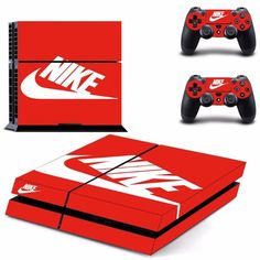 PS4 Nike Skin Console Cover Skin Stickers  2Pcs Controller Stickers