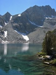Midnight Lake, Hike from Lake Sabrina to Midnight lake about 12 miles round trip. beautiful just outside of Bishop, CA