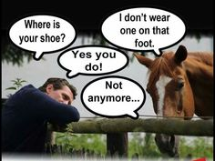 Where is your shoe?