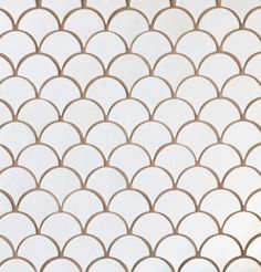 Moroccan Fish Scales by Mercury Mosaics. American made handcrafted tile. Custom tile for commercial projects and residential. Contact us! Scallop Tiles, Mother Of Pearl Backsplash, Mermaid Tile, Moroccan Tiles, Moroccan Lanterns, Moroccan Decor, Moroccan Tile Backsplash, Turkish Tiles, Fish Scale Tile