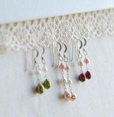 An elegant way to organize earrings! #storage
