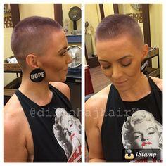 Die Kurzhaarfrisur nicht kurz genug? Sehr schöne rasierte Frisuren!
