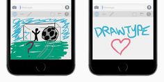 An iOS 8 Keyboard App That Lets You Draw Your Texts