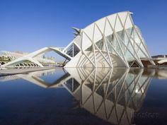 Science Museum, Architect Santiago Calatrava, City of Arts and Sciences, Valencia, Spain, Europe Photographic Print