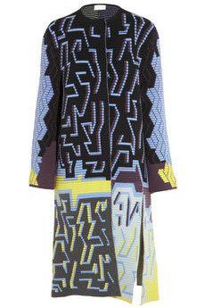 Peter Pilotto Ribbed wool-blend coat | NET-A-PORTER
