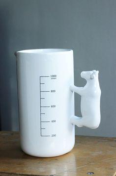 Porcelain Cow Vase/ Milk Jug