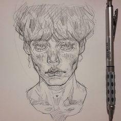 Nele Jaenicke (@lig_ma_balz) • Instagram photos and videos Sketchbook Inspiration, Art Sketchbook, Pretty Art, Cute Art, Art Sketches, Art Drawings, Character Art, Character Design, Photographie Portrait Inspiration