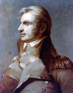 """""""Captain Charles Stewart,"""" c.1817 -- by Thomas Sully (American, 1783–1872)"""