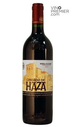 VINO TINTO CONDADO DE HAZA CRIANZA 2009  Vinos Tintos - D.O. Ribera del Duero   11.60€    Precio con I.V.A. Incluido $15.75