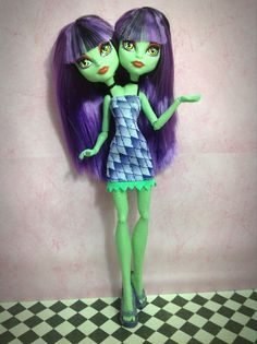 NEW Gorgon Green Conjoined Creatures Two par DolliciousCustoms