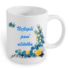 Hrneček pro paní účitelku Mugs, Tableware, Dinnerware, Tablewares, Mug, Place Settings